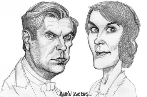 Downton Abbey,Matthew Crawley,Lady Mary
