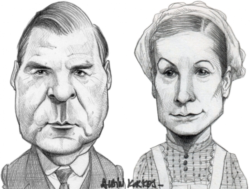 Downton Abbey,John Bates, Anna Bates