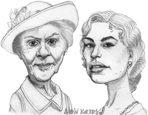 Downton Abbey,Isobel Crawley,Lady Rose MacClare
