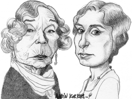 Downton Abbey,Mrs Levinson,Lady Edith